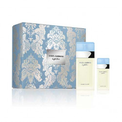 D&G LIGHT BLUE Estuche Eau de Toilette 100 ml + Eau de Toilette 25 ml