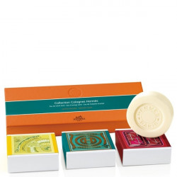Collection Colognes of Perfumed Soaps 3x100g