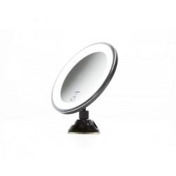 Espejo LED con ventosa