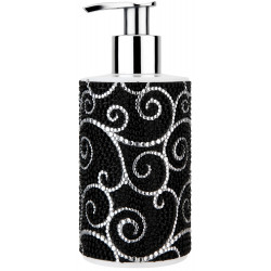 Glamour In Black Soap Dispenser 250ml