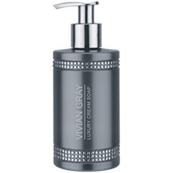 Grey Crystal Soap Dispenser 250ml