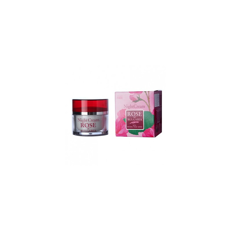 Night Face Cream with Rose Water 50ml