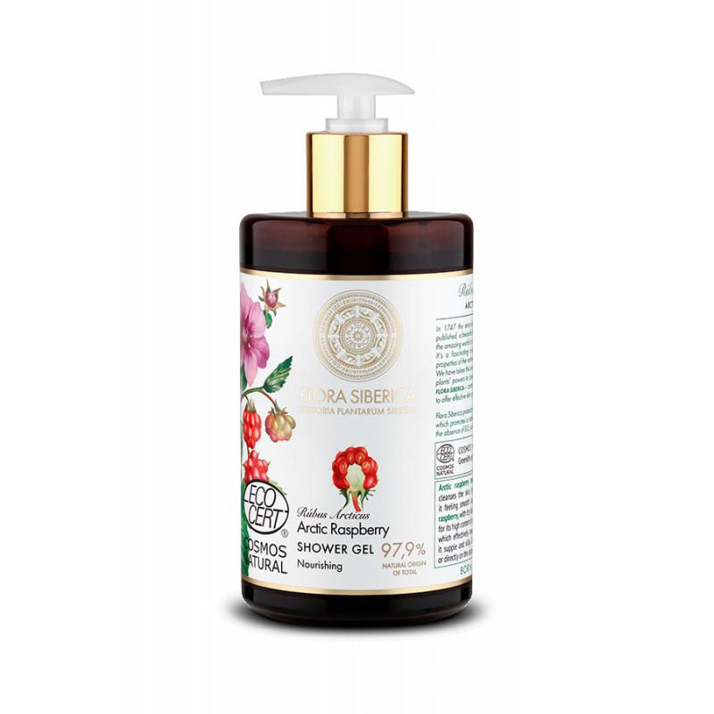 Flora Arctic Raspberry Nourishing Shower Gel 480ml