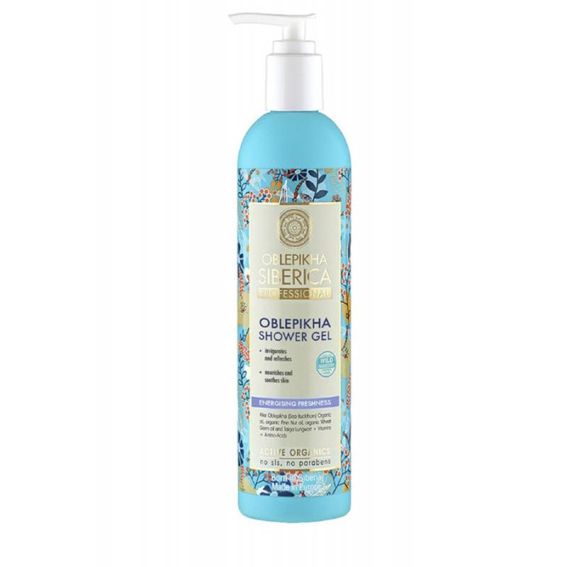 Oblepikha Shower Gel Energizing Freshness 400ml
