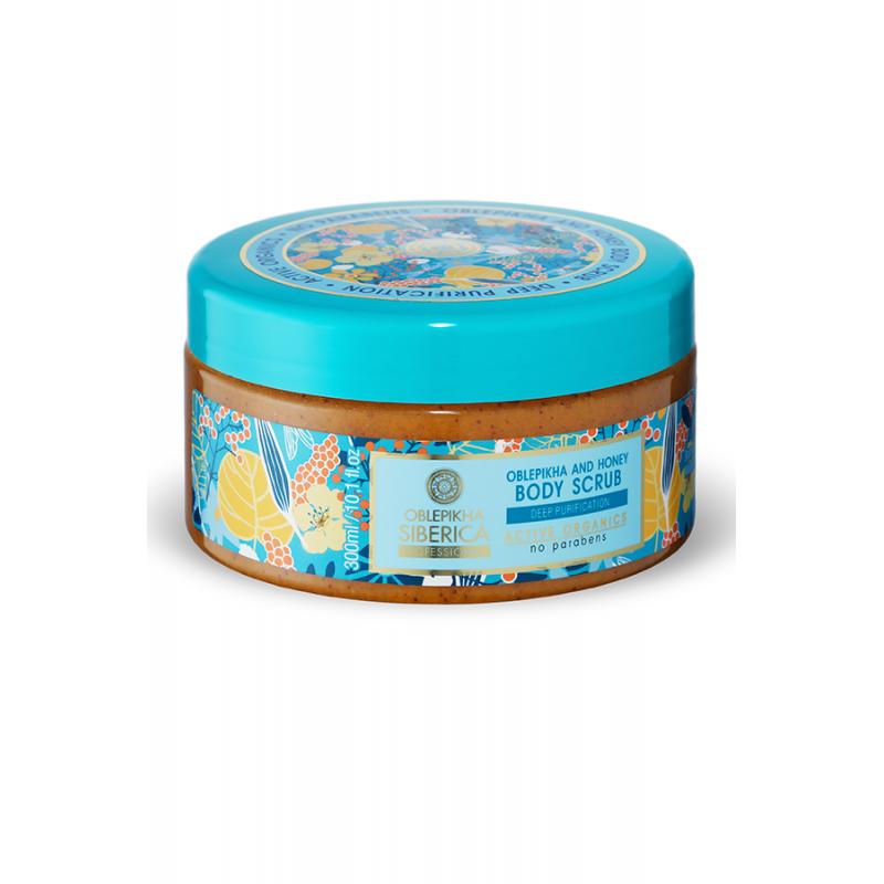 Oblepikha and Honey Body Scrub 30ml