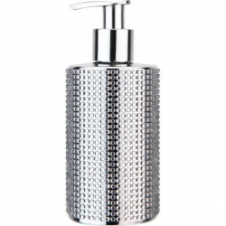 Silver Diamonds Soap Dispenser 250ml