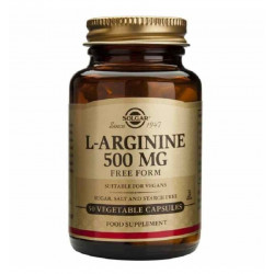 L-ARGININA 500 mg Cáp Veg