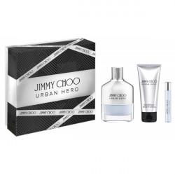 Jimmy Choo URBAN HERO Estuche.(EDP 100+ASB 100)