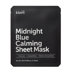 Midnight blue calming sheet...