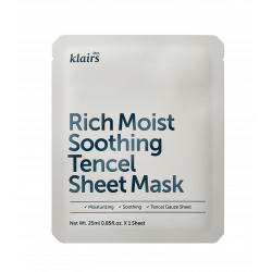 Rich moist soothing sheet...