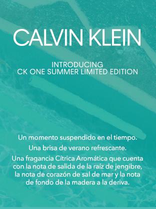 calvin klein limited edition texto